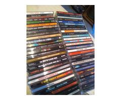 Asst CD's, DVD's ps3, vhs