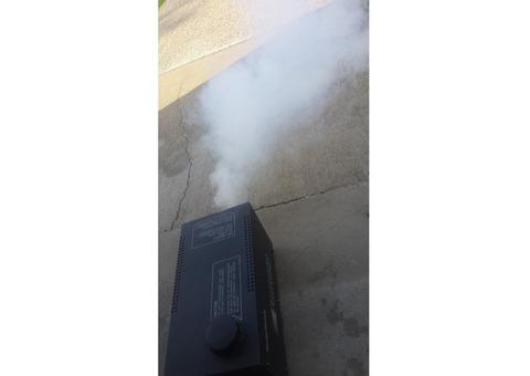 Radio Shack fogger and smoke