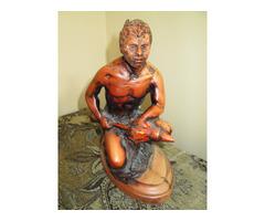 New Zealand Warrier Sculpture