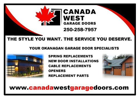 Kelowna Garage Doors - Canada West Garage Doors Inc
