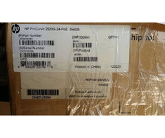 HP Switch 2520G-24-POE
