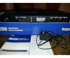 Lexicon MX200 for Instrum and vocal
